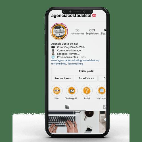 Instagram Agencia de Marketing Costa del Sol